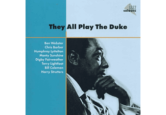 VARIOUS - They All Play The Duke - (CD)