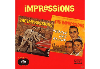 The Impressions - Keep On Pushing/People Get Ready - (CD)