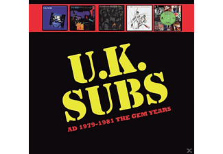 Uk Subs - Ad 1979-1981 The Gem Years - (CD)