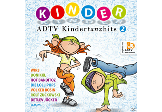VARIOUS - Adtv Kindertanzhits 2 - (CD)
