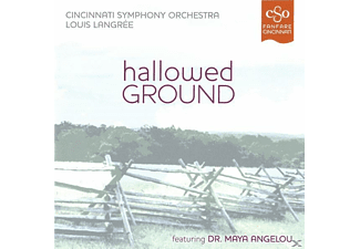 Louis/cincinnati So Langrée - Hallowed Ground - (CD)