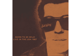 Link Wray - Live/Born To Be Wild - (CD)