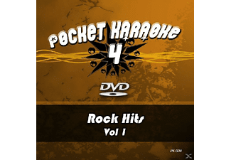 Karaoke - Pocket Karaoke 4-Rock Hits Vol.1 [DVD]