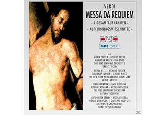 Chor D.St.Hedwigs Kathedrale, RIAS Sinfonie Orch. - Messa Da Requiem-Mp 3 - (MP3-CD)