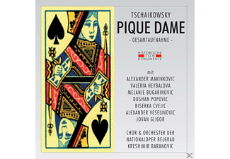 Orchester Der Nationaloper Belgrad - Pique Dame [CD]