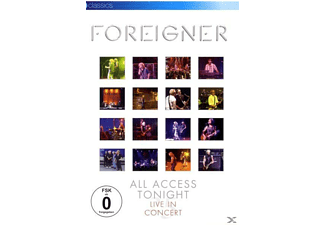 Foreigner - All Access Tonight-Live In Concert [DVD]