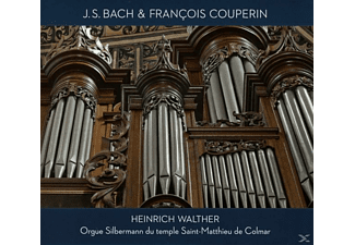 Heinrich Walther - Silbermann Orgel - (CD)