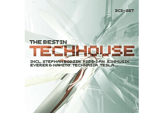 VARIOUS - The Best In Tech House - (CD)