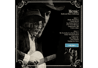 Menic - Railroad Blues Anthology (LP+CD) - (LP + Bonus-CD)