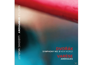 Morlot/Seattle Symph - SINFONIE 9/AMERIQUES - (CD)