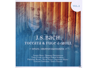 VARIOUS - Toccata & Fuge D - Moll Orgel Improvisationen Vol. 2 - (CD)
