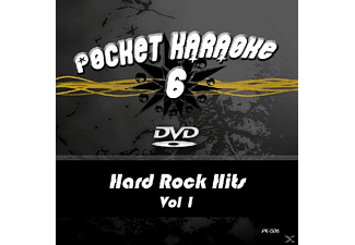 Karaoke - Pocket Karaoke 6-Hard Rock Hits Vol.1 - (DVD)