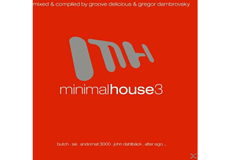 VARIOUS - Minimal House 3 - (CD)