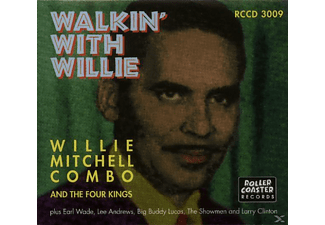 VARIOUS - Walkin With Willie Mitchell & - (CD)