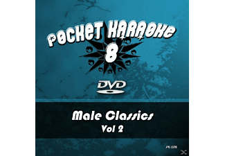 Karaoke - Pocket Karaoke 8-Male Classics Vol.2 - (DVD)