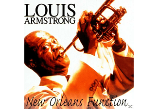 Louis Armstrong - New Orleans Function - (CD)