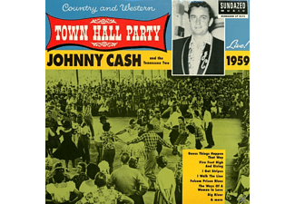 Johnny Cash - Live At Town Hall Party 1959 - (Vinyl)