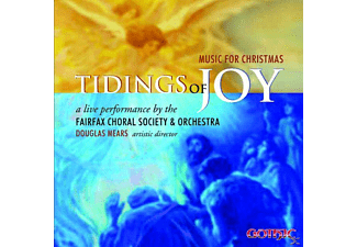 Fairfax Choral Society and Orchestra/Mears - Tidings of Joy-Music for Christmas - (CD)