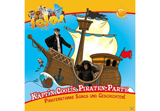 Käpt'n Cool's Piraten-Party - 1 CD - Hörbuch