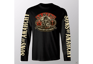 SONS OF ANARCHY - Men of Mayhem (Longsleeve Black / M)