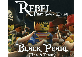 Rebel Feat. Sidney Housen - Black Pearl (He Is A Pirate) - (5 Zoll Single CD (2-Track))