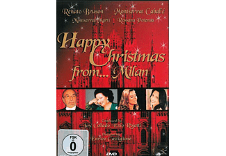 Caballe,Monterrat/Bruson,Rena - Happy Christmas From...Milan - (DVD)