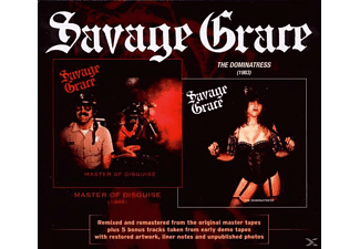 Savage Grace - Master Of Disguise & The Dominastress - (CD)