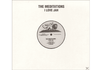 The Meditations - I Love Jah - (Vinyl)