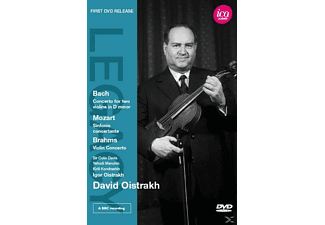 David Oistrach - Concerto For Two Violins/  Sinfonia Concertante/ Violin Conc - (DVD)