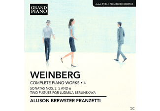 Allison Brewster Franzetti - Klavierwerke Vol.4 - (CD)