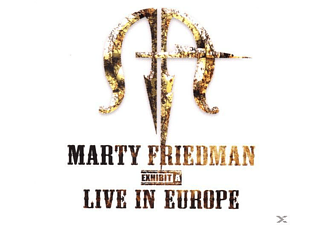 Marty Friedman - Exhibit A - Live In Europe - (CD)