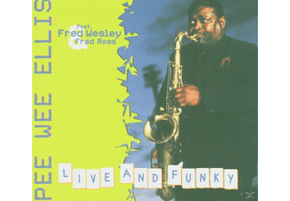 Pee Wee Ellis - Live And Funky - (CD)
