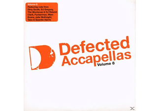 VARIOUS - Defected Accapellas Vol.8 - (CD)