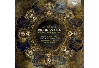 Alogna/Alejo/Camerata De Coahuila/Shade - Music For Violin & Viola - (CD)