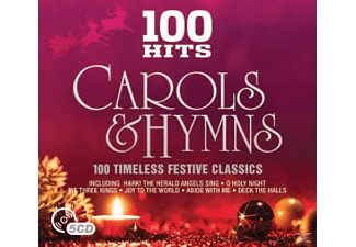 VARIOUS - 100 Hits-Christmas Carols & Hymes [CD]