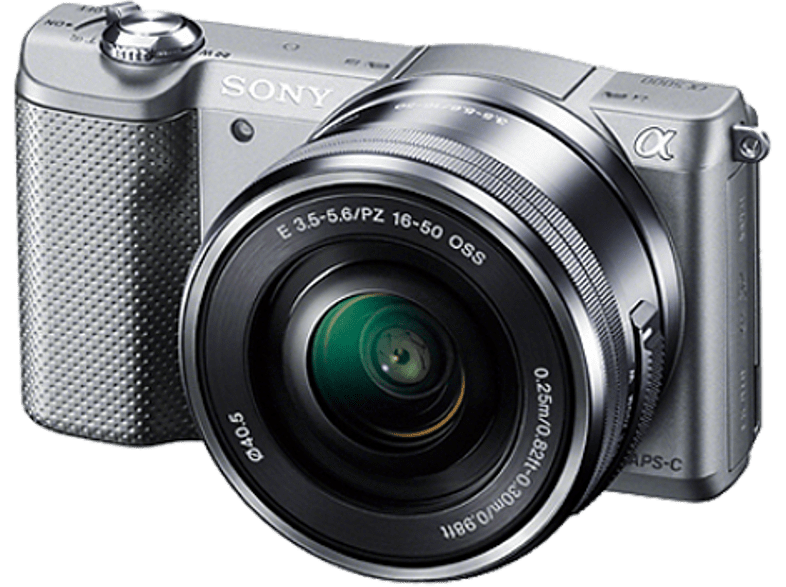 SONY Alpha 5000 Silver με φακό 16-50mm - (ILCE-5000LS) photo   video   offline φωτογραφικές μηχανές mirrorless cameras hobby   φωτογραφ