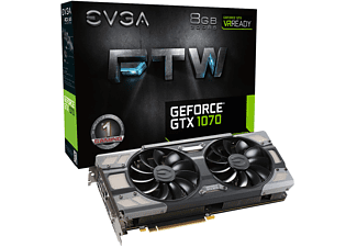EVGA GeForce® GTX 1070 FTW Gaming ACX 3.0 8GB (08G-P4-6276-KR)( NVIDIA, Grafikkarte)