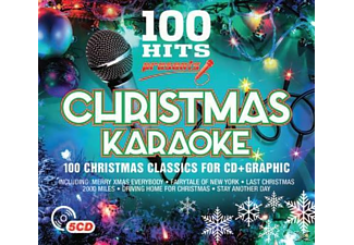 VARIOUS - 100 Hits-Christmas Karaoke [CD]