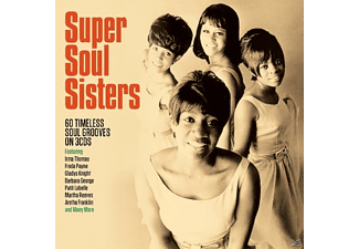 VARIOUS - Super Soul Sisters [CD]