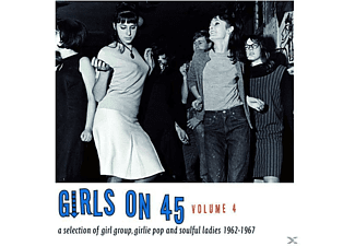 VARIOUS - Girls On 45 Vol.4: 26 Girl Group [CD]
