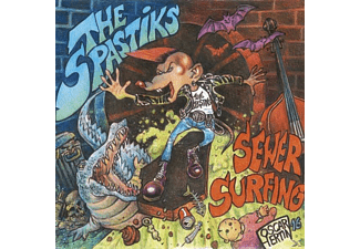 Spastiks - Sewer Surfing - (CD)