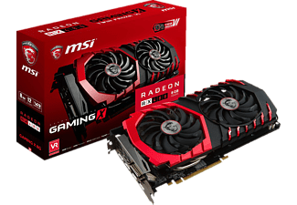 MSI Radeon RX 480 Gaming X 8GB (V341-003R) 8 GB, Polaris 10 XT, AMD, Grafikkarte