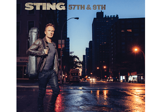 Sting - 57th & 9th Black (Vinyl LP (nagylemez))