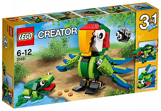 Creator Rainforest Animals - (31031)