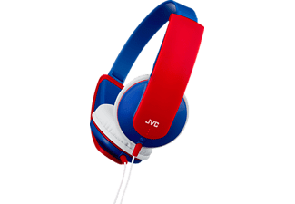 JVC HA-KD5AE Bibi Blocksberg, On-ear Kopfhörer, Blau