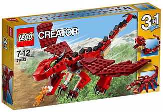 Creator Red Creatures - (31032)