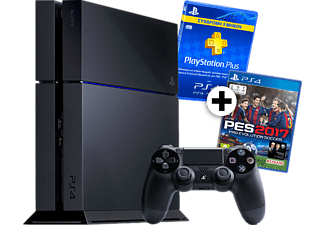 SONY PS4 500GB + PES 2017 + 3μηνη Συνδρομή PlayStation Plus