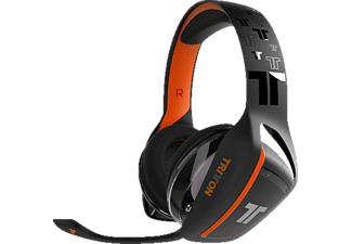 MAD CATZ TRITTON ARK 100 Stereo Gaming-Headset für PS4, Gaming-Headset, Schwarz/Orange