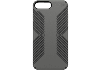 SPECK CandyShell Grip, Backcover, Apple, iPhone 7 Plus, Kunststoff, Grau