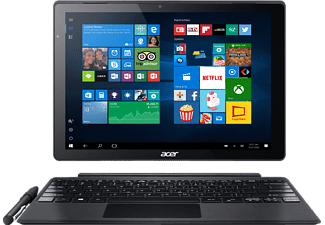 ACER Switch Alpha 12 Fit (SA5-271-FIT), Convertible mit 12 Zoll, 256 GB Speicher, 4 GB RAM, Core™ i5 Prozessor, Windows® 10 Home (64 Bit), Silber
